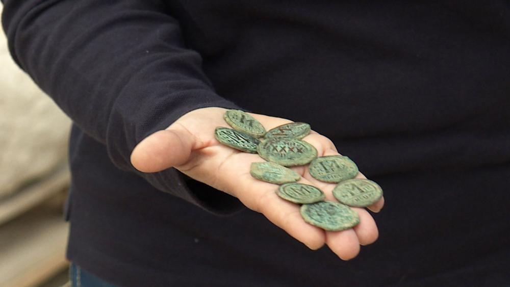Second Temple Coins, Photo, CBN News