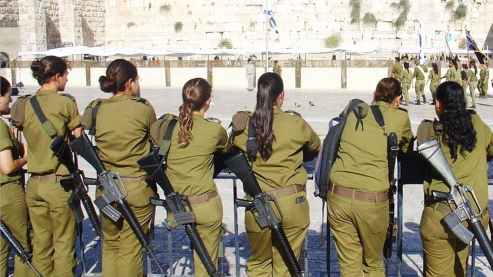 At the Kotel (Western Wall), Photo, IDF Facebook